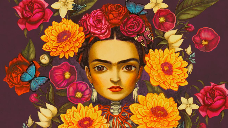 "Dibujo Para Colorear De Frida Kahlo: Benjamin Lacombe: ""Frida Kahlo Logró Superar El Dolor"