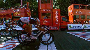 Bennati se impone en Valladolid, Contador sigue líder