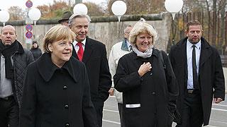 Berlín conmemora la caída del muro 25 años después