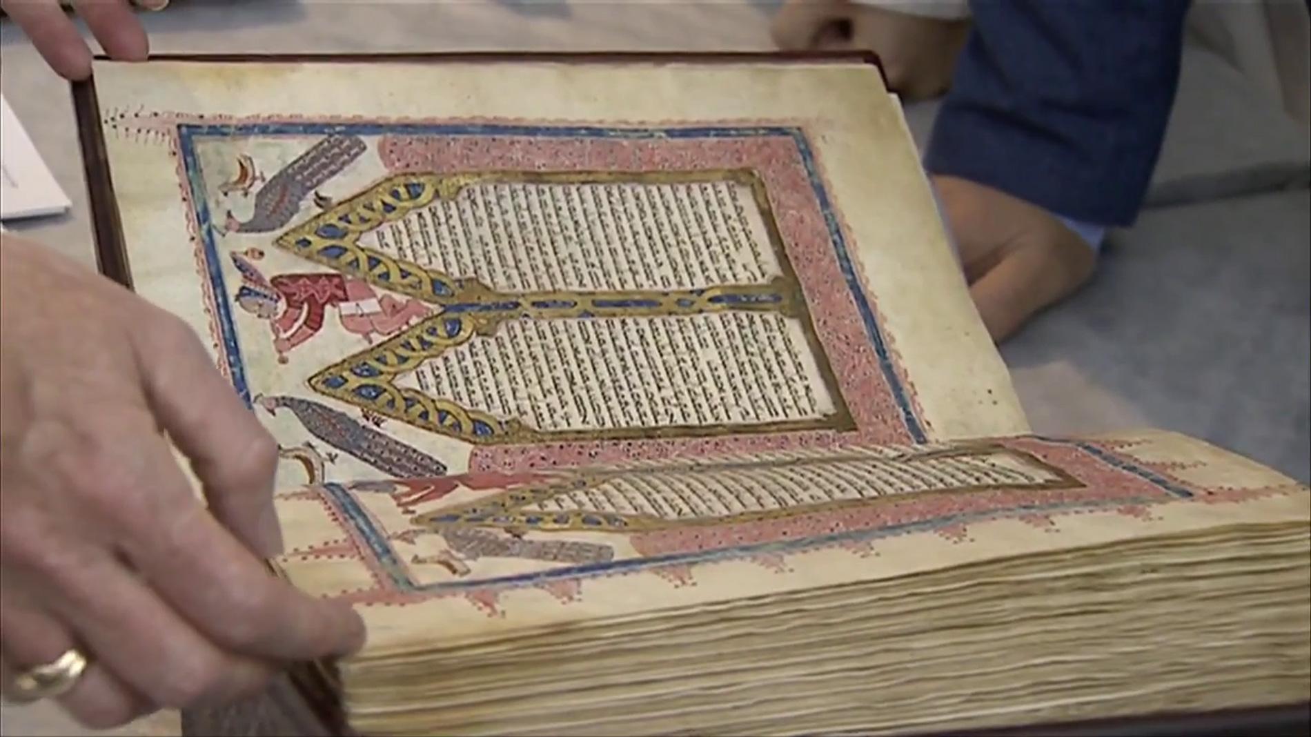 Ir al VideoLa Biblia Kennicot regresa a La Coruña