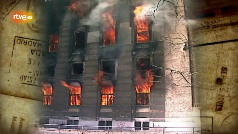 Paco Custodio y el incendio de la biblioteca de Sarajevo