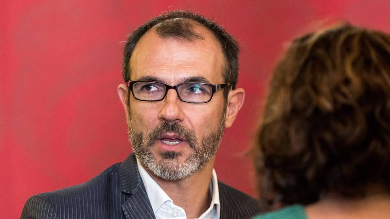 Biel Barceló en el pleno del Parlamento Balear el pasado mes de septiembre