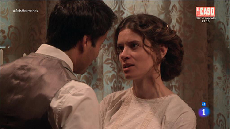 Seis Hermanas - Blanca le pide a Rodolfo que apoye a los ingleses