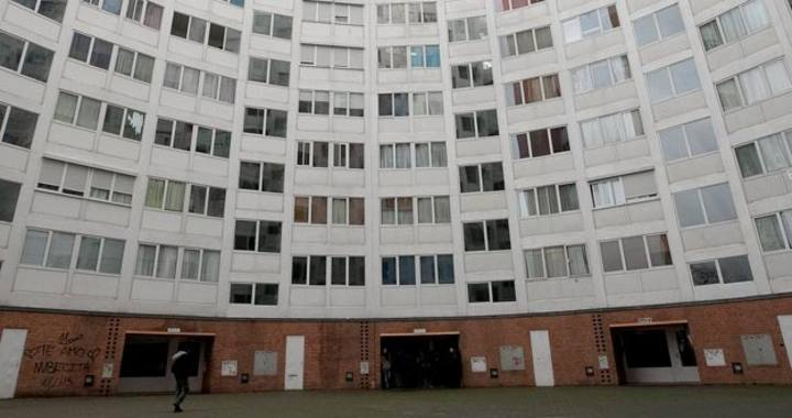 Bloques de viviendas en Madrid