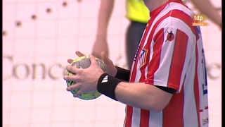Copa del Rey de Balonmano. Segunda semifinal: C BM Torrevieja-BM At. Madrid - 10/03/12