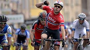 Boasson Hagen gana al esprint en la tercera etapa del Dauphiné