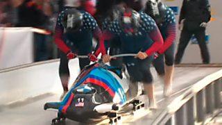 Bobsleigh A-4 Masculino - Copa del Mundo 2ª Manga desde Pyeongchang (Corea)