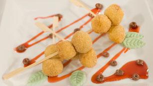 Saber Cocinar - Postres - Bolitas dulces con pan de ayer