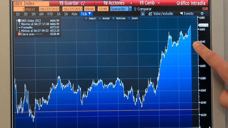 Las Bolsas europeas, salvo Madrid y Milán, caen antes de la cumbre europea