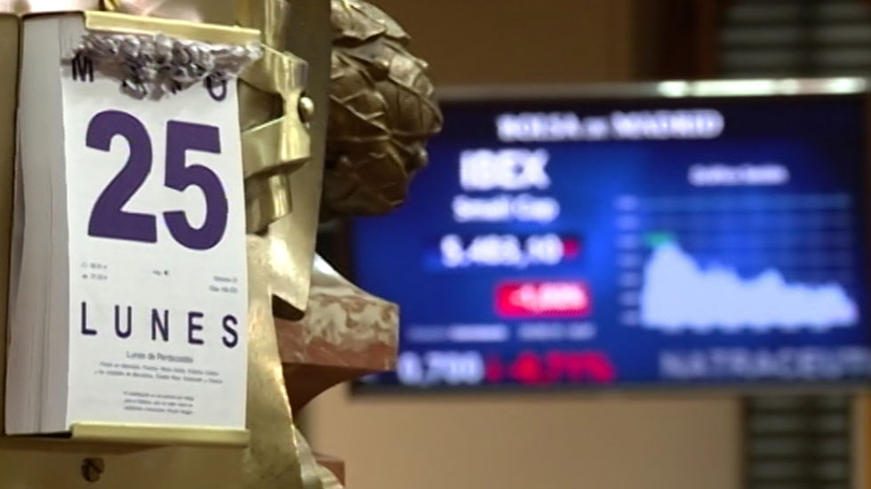Las Bolsas europeas sufren fuertes pérdidas generalizadas por la incertidumbre sobre Grecia