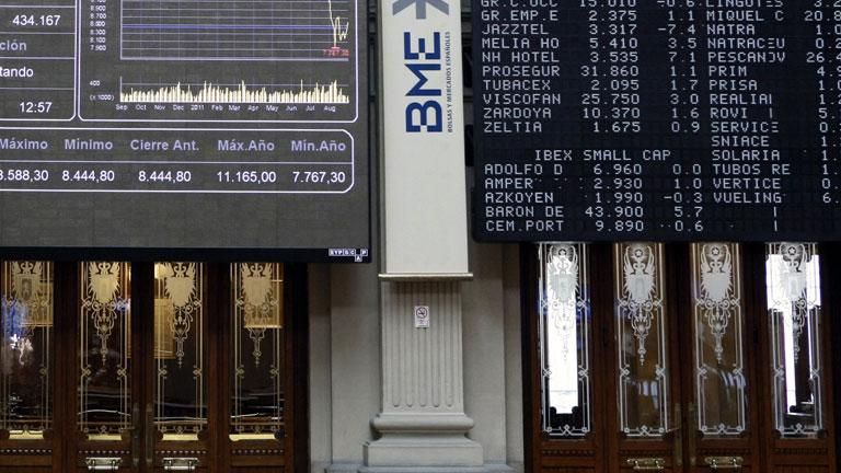 Las Bolsas europeas confían en la solucion de la crisis de deuda y suben más del 1%