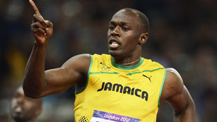 Bolt se lleva el oro en Londres 2012 en los 100 m