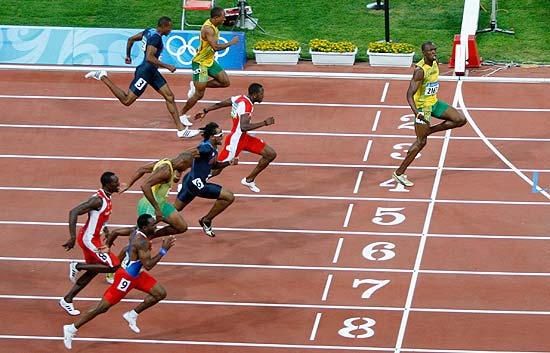 Usain Bolt pulveriza el récord de 100 metros