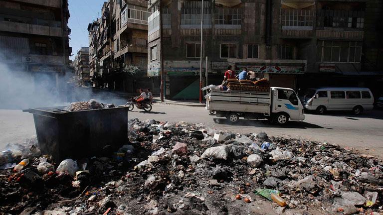Los bombardeos continúan en Siria