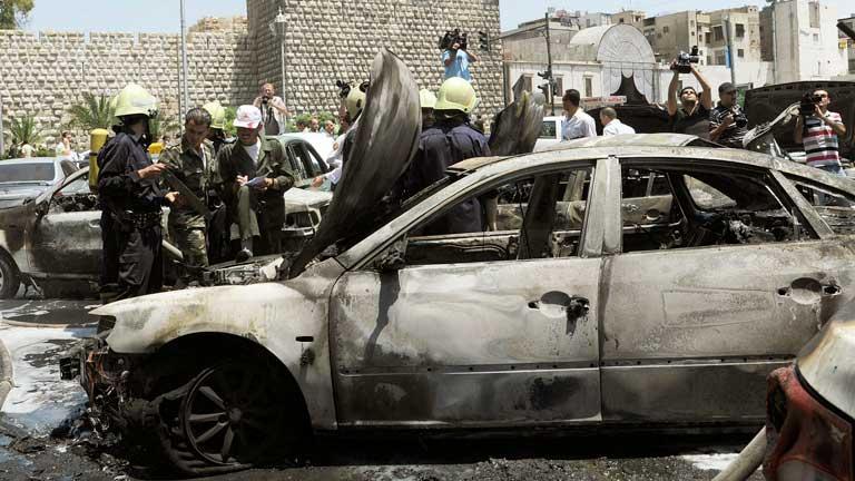 Más de 30 muertos en bombardeos y ataques armados en Damasco