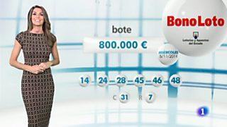 Bonoloto - 05/11/14