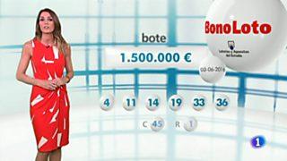 Bonoloto + EuroMillones - 03/06/16