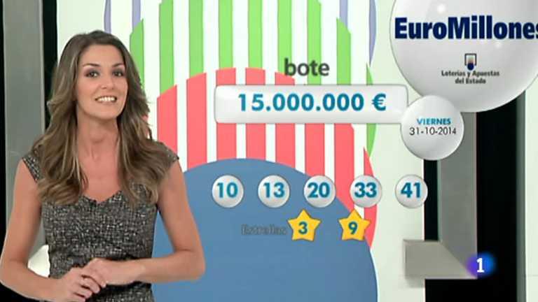 Bonoloto + Euromillones - 31/10/14