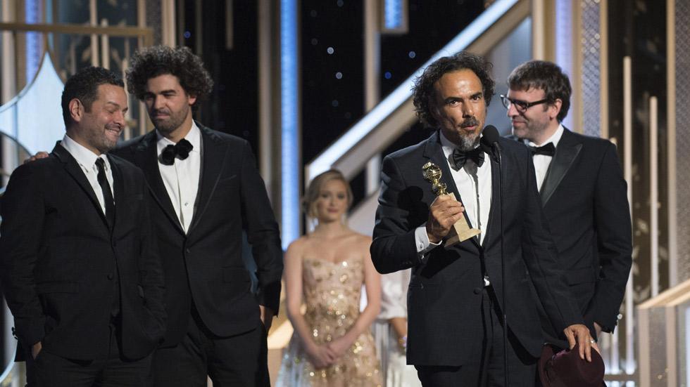 'Boyhood' triunfa en los Globos de Oro 2015