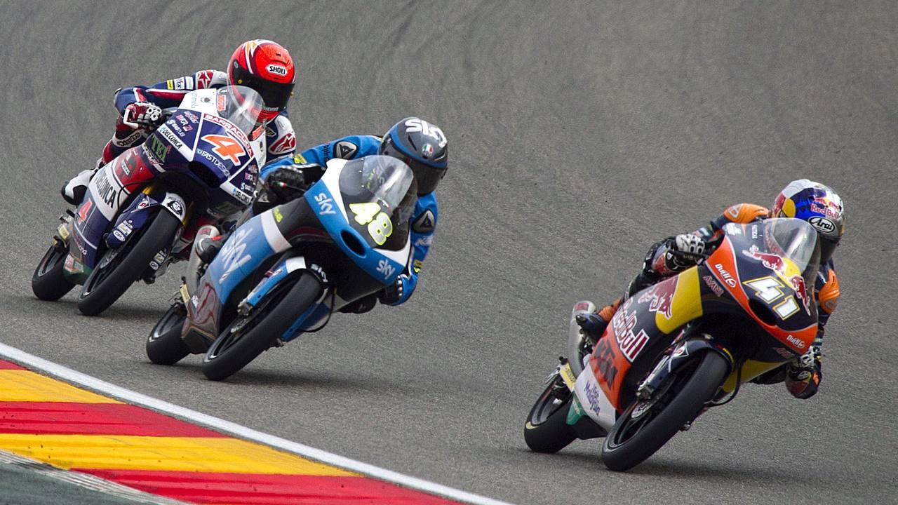 Brad Binder se proclama campeón del mundo de Moto3