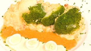 Saber Cocinar - Brécol con garbanzos a la crema