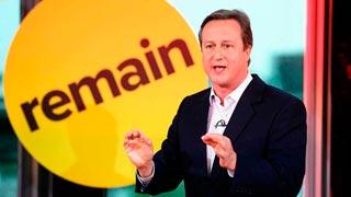 David Cameron viaja a Gibraltar para hacer campaña contra el 'Brexit'