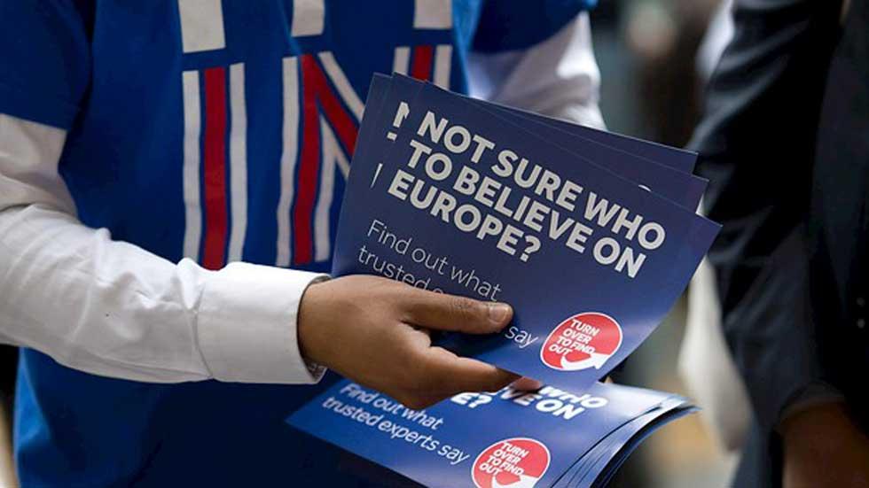 El Brexit pierde terreno en las encuestas y las bolsas europeas reaccionan con subidas