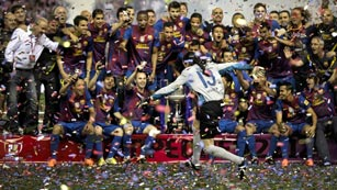 El brillante colofón del Barça de Guardiola