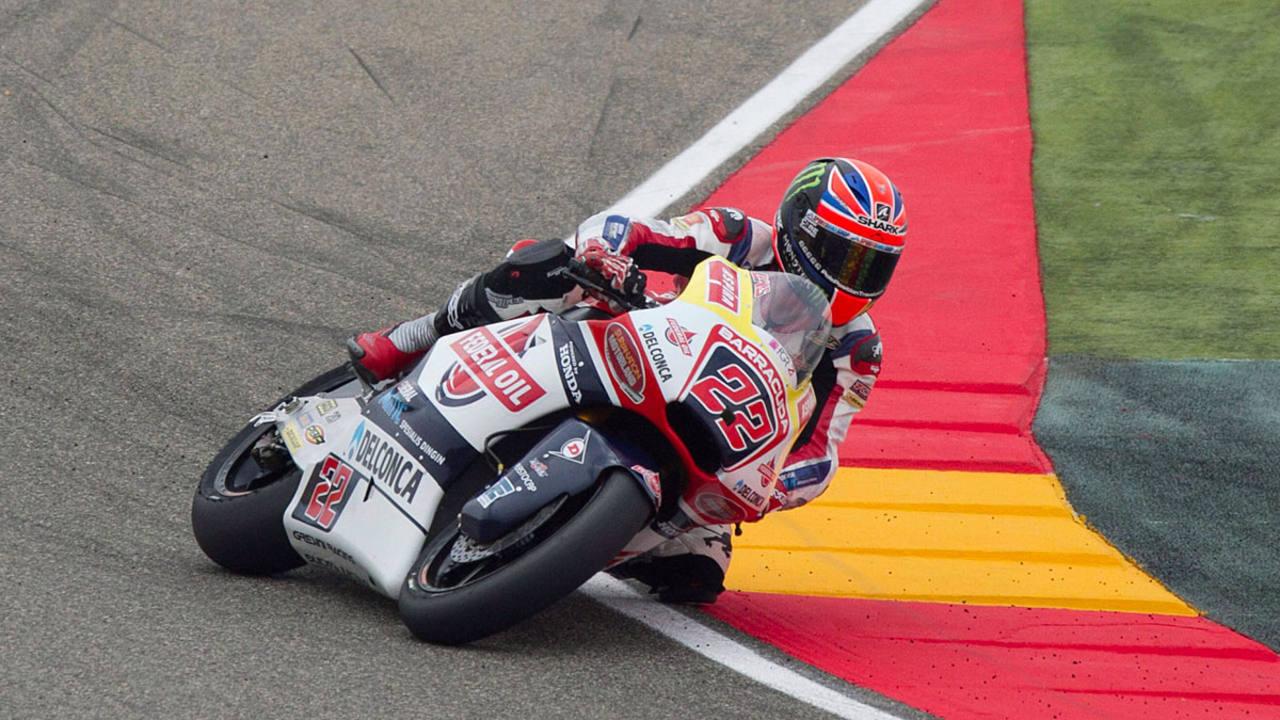 El británico Sam Lowes (Kalex) gana en Moto 2 en Alcañiz