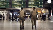 Bruselas se blinda tomada por el Ejército y la Policía tras los atentados en el aeropuerto y el metro