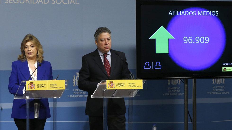 """Burgos: """"Llevamos 13 meses ganando afiliados en términos interanuales"""""""