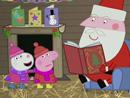 Imagen del  vídeo de Peppa Pig titulado LA CABAÑA DE PAPÁ NOEL