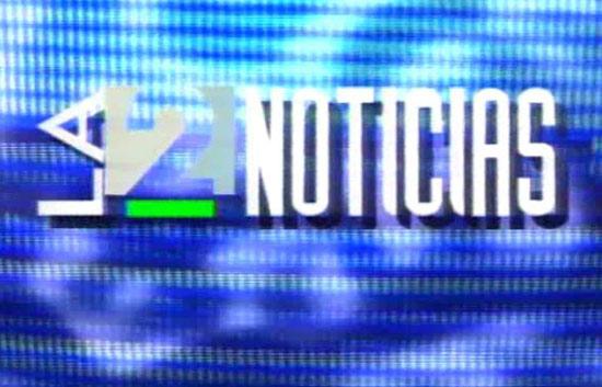 Cabecera de 'La2 Noticias' en 1994