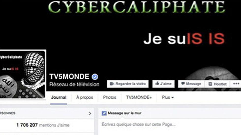 La cadena francesa TV5Monde, víctima de un ciberataque reivindicado por el grupo terrorista del Estado Islámico