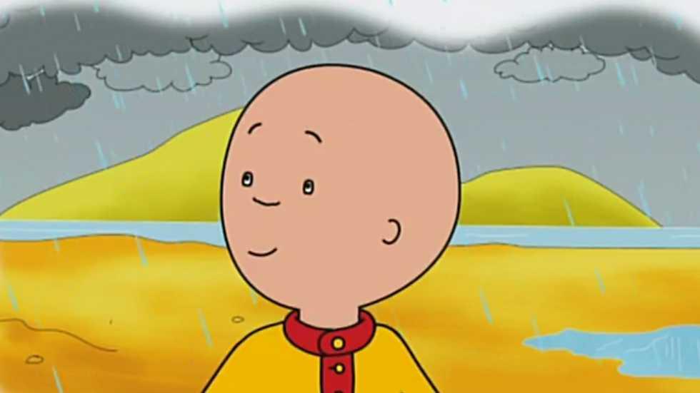 Día lluvioso en la playa