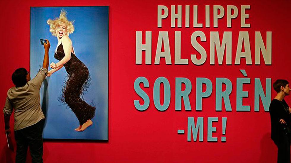 El Caixafórum de Barcelona presenta la exposición de Philippe Halsman el fotógrafo que hizo saltar a Marilyn Monroe