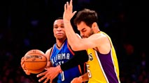Ir al Video Calderón se reinvindica y ayuda a Lakers a vencer a Thunder