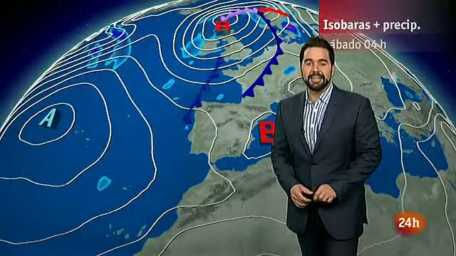Calor en área del Mediterráneo y lluvias d&eacu
