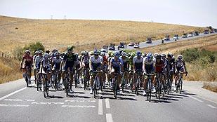 El calor golpea con dureza a la Vuelta ciclista a España 2014