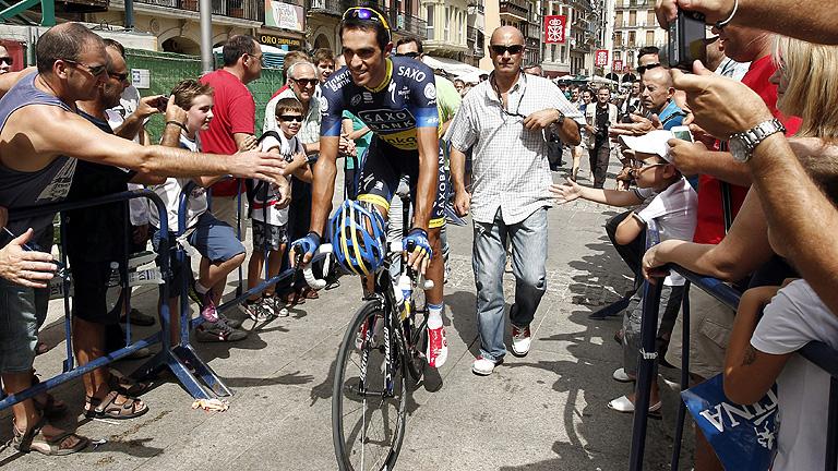 El calor hace mella en la Vuelta