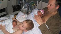 Calor humano para sacar adelante a bebés prematuros