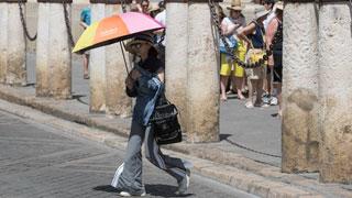 Calor en el Mediterráneo y en el  interior de la península