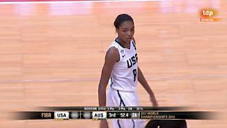 Baloncesto - Campeonato del Mundo Femenino 2ª Semifinal: EEUU- Australia