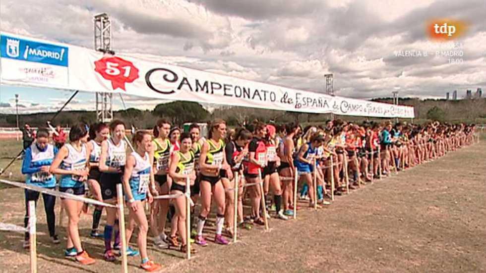 Cross - Campeonato de España por Clubes. Carrera Corta Femenina