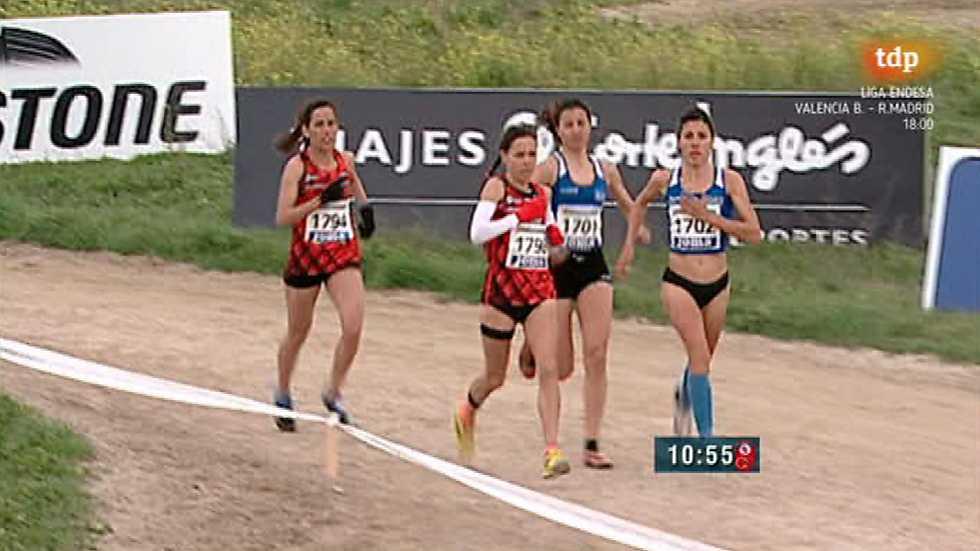 Cross - Campeonato de España por Clubes. Carrera Promesa/Larga Femenina