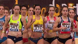 Atletismo - Campeonato de España en pista cubierta, 1ª jornada