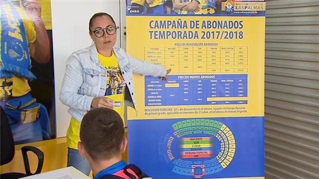 LA CAMPAÑA DE ABONADOS DE LA UD, A BUEN RITMO