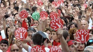 Campaña contra las agresiones sexuales en Pamplona
