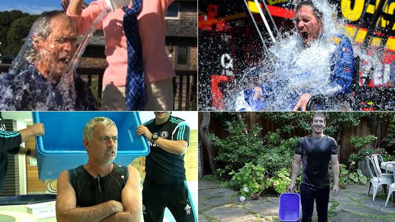 La campaña del cubo con agua helada ha recaudado 100 millones de dólares en Estados Unidos y casi 400.000 euros en España