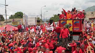 Comienza la campaña electoral para las presidenciales en Venezuela